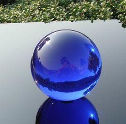 Magic Crystal Balls Canada - Asian Rare Natural Quartz Blue Magic Crystal Healing Ball Sphere 60mm + Stand D1