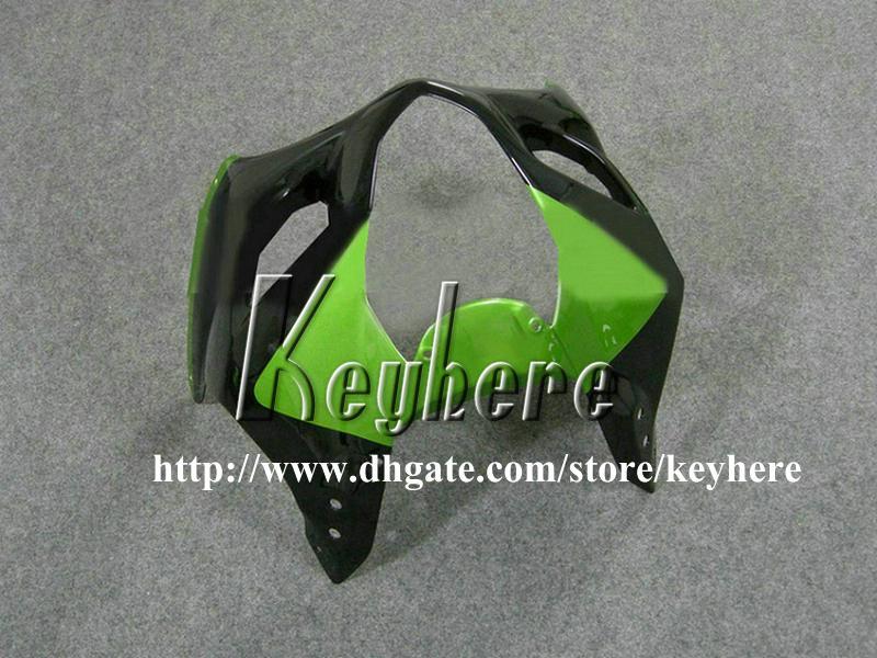 Kit cadeau de carénage en plastique ABS gratuit 7 pour GSXR1000 03 04 GSX-R1000 GSXR 1000 2003 2004 K3 carénages G3i vente chaude vert noir pièces de moto