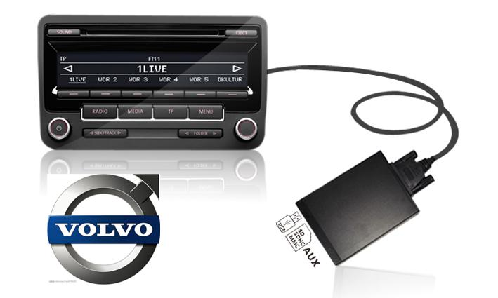 usb aux adapter dh-usb volvo s40