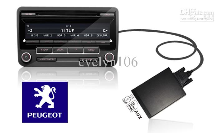 Car radio usbsdaux mp3 interface for peugeotcitroen 206 307 407 car radio usbsdaux mp3 interface for peugeotcitroen 206 307 407 607 c2 c3 c4 c5 rd3 radio wholesale car audio wholesale car stereo from evelyn106 sciox Choice Image