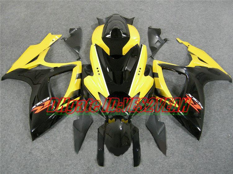 Kuiken Body Kit voor SUZUKI GSXR600 750 2006 2007 GSXR 600 GSXR750 K6 06 07 GSXR 750 Motorfietsverbarsting Carrosserie MN27