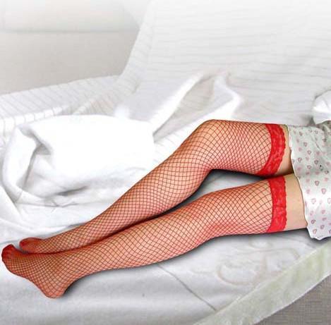 Gratis schip 20 paren Sexy Womens Sheer Lace Top Siliconen Band Stay Up Dij Hoge Kousen Pantyhose Lingerie met retailpakket