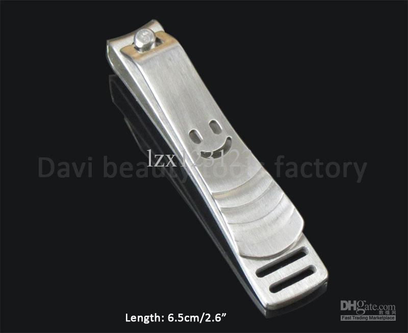 stainless nail clippers with smile face nail file nail art nail care