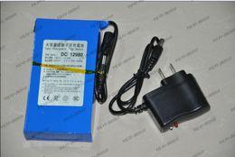Wholesale 12v Dc Battery Pack - LLFA1144 New DC 12V Portable 9800mAh Li-po Super Rechargeable Battery Pack