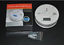 Wholesale Detector Home Safety Alarm - LLFA1149 Home Security Safety CO Gas Carbon Monoxide Alarm Detector CE Rohs EN50291+ retail box