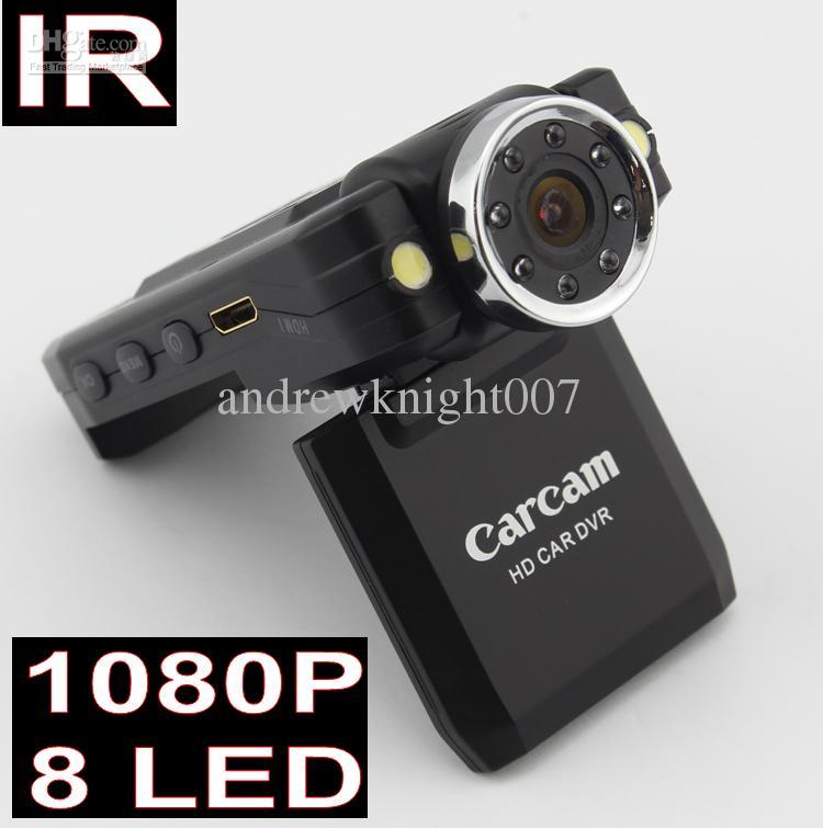 2015 Newset Full HD 1080P Car DVR Cam Recorder Camcorder Vehicle Dashboard Camera +8 IR LED