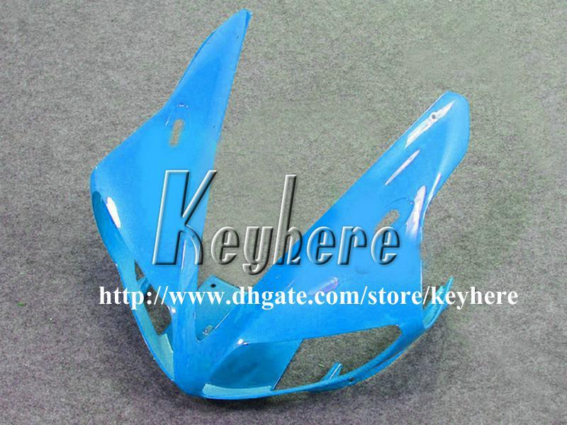 Gratis 7 geschenken ABS Plastic Fairing-kits voor Yamaha YZFR1 2002 2003 YZF R1 02 03 YZF1000R BIFTINGS G4O Hot White Light Blue Motorcycle Onderdelen
