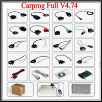 Wholesale Honda Repair Parts - 2013 new CARPROG FULL V4.74 carprog programmer repair tool with 21 part +dongle+count reset cable, car prog 4.74 diagnostic tool