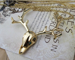 Wholesale Sweater Chain Necklaces Cheap - 10%off Classic deer sweater chain necklace necklaces jewelry fashion jewelry jewelry wholesale necklace sale cheap new.12pcs.M