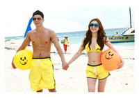 Wholesale China Pant For Men - swimwear Lovers short pants swimming 2013 China lovers shorts Fashion board shorts for men women quick-drying yellow pants BIKINI set