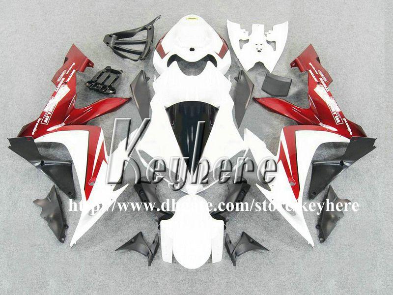 7 cadeaux ABS kits de carénage en plastique pour YAMAHA YZFR1 2004 2005 2006 YZF R1 04 05 06 carénages YZF1000R carrosserie de moto blanche rouge G3m