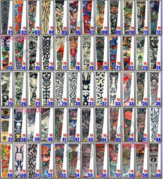 Wholesale Tattoos Arm Designs For Men - Pop 20pcs Fancy Tattoo Stripe Sleeves Arm Dress Sleeve Great Tattoo Design For Men & Women