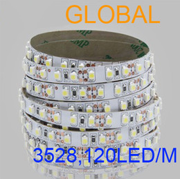 Discount high bright led strip blue white yellow red warm LED Strip Light 5m 3528 SMD Flexible nonWaterproof 12V 600 LEDs Super Bright high quality 150