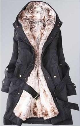 Ladies Fashion Winter Jacket,Winter Outerwear,Winter Clothes,Faux ...
