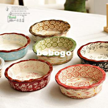 See larger image & 2018 Ceramic Tableware Disc Plate Cake Pan From Bobogo $21.25 ...