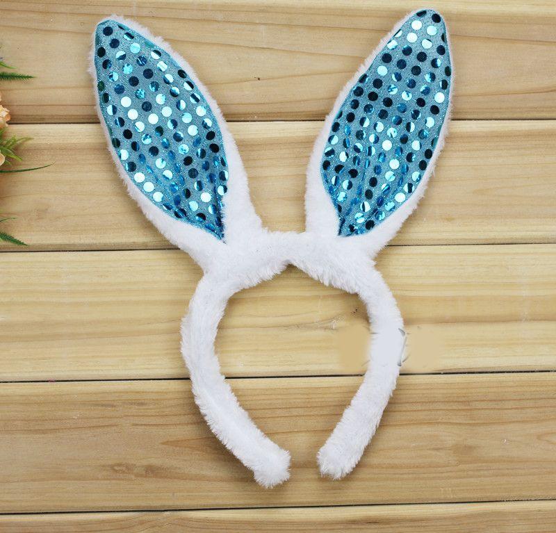 / Shinning Veel kleuren Konijn Kostuum Bunny Oren Bunny Kostuums voor Halloween Pyt Ma34