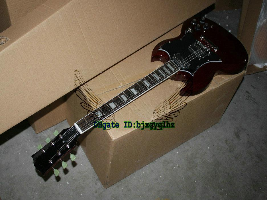 Custom Shop guitar sg Newest Wind Red SG Model 400 Electric Guitar wholesale
