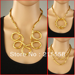 Wholesale Bendy Necklace Wholesale - Punk Style DIY Flexible Snake Necklace 6mm European Bendy Twisty Bendable Hip Hop Snake Bangle Bracelet ZN10