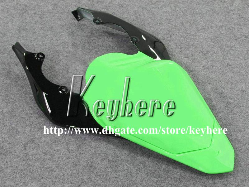 7 cadeaux gratuits Kit de carénage de course sur mesure pour YAMAHA YZFR6 2006 2007 YZF R6 YZF600R 06 07 carénages g4m flammes noires dans une carrosserie de moto verte