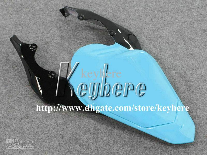 7 cadeaux gratuits Kit de carénage de course personnalisé pour YAMAHA YZFR6 2006 2007 YZF R6 YZF600R 06 07 carénages g6m nouvelle flamme noire carrosserie de moto bleue