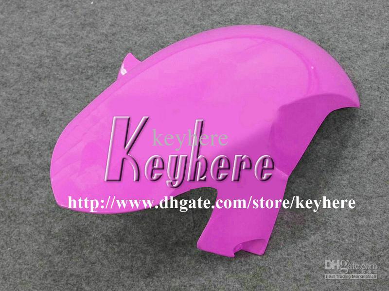 7 cadeaux gratuits Kit de carénage de course sur mesure pour YAMAHA YZFR6 2006 2007 YZF R6 YZF600R 06 07 carénages g7m nouvelle flamme noire carrosserie de moto rose
