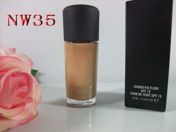 Trucco di alta qualità 6 colori NW20-NW45 STYLE Foundation Liquid 30ML SPF15
