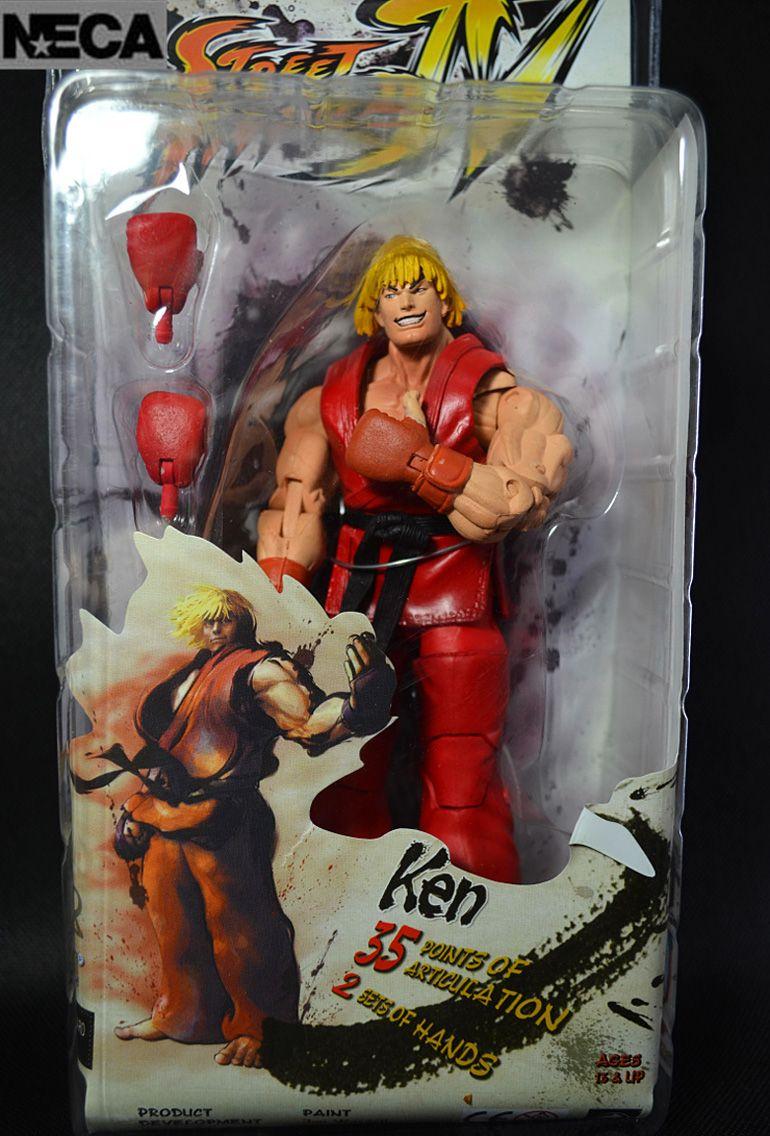 7 18CM Player Select Street Fighter IV Survival Model Ken