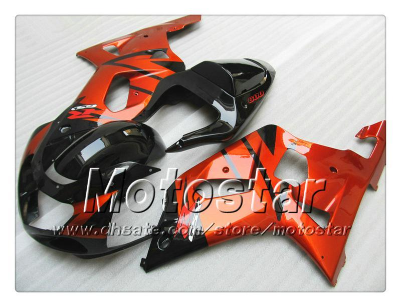 Carrosseriebereiken voor Suzuki GSXR 600 750 K1 2001 2002 2003 GSXR600 GSXR750 01 02 03 R600 R750 FUNLING SET QQ41 + 7 GENAFFEN