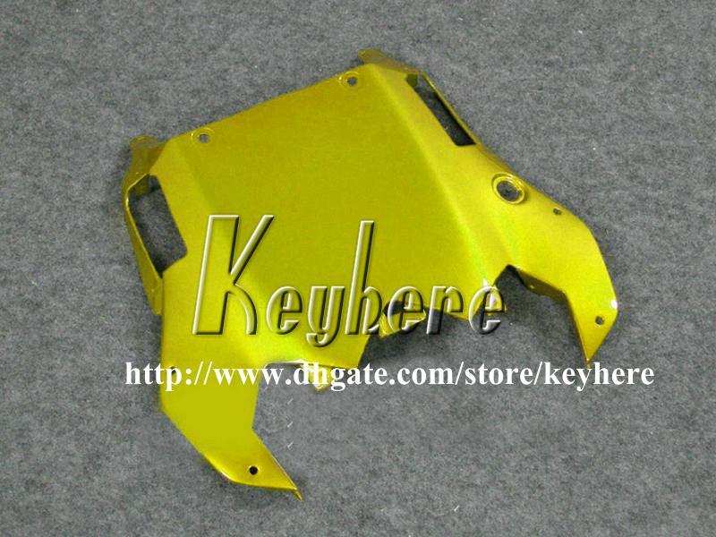 7 regali personalizzati Kit carena da gara YAMAHA YZFR6 2008 2009 YZF-R6 YZF600R 08 09 carene g1p vendita calda nero moto d'oro
