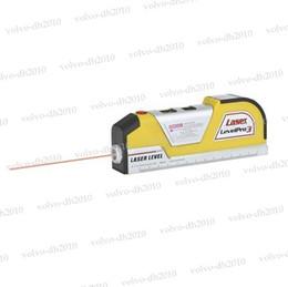 Wholesale Vertical Horizon - 02 Laser Level Horizon Vertical Measure Measuring Tape 8 FT Aligner Ruler Tool Hand LLY164