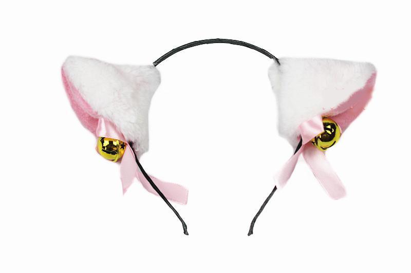 20 stks / partij 2013 Nieuws Sexy Cat Ears Hoofdband met klokken Hathaway Anne Catwoman voor Halloween Pyt Ma36