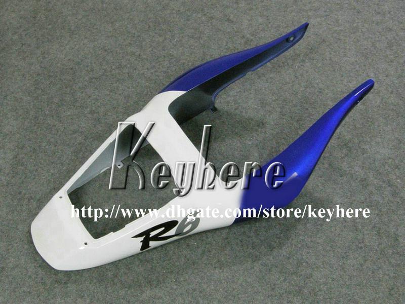 طقم هدايا مجانية من 7 هدايا لـ YAMAHA YZFR6 1998 1999 2000 2001 2002 YZF600R YZF R6 98 99 00 01 02 fairings G2n blue black motorcycle motorcycle هيكل السيارة
