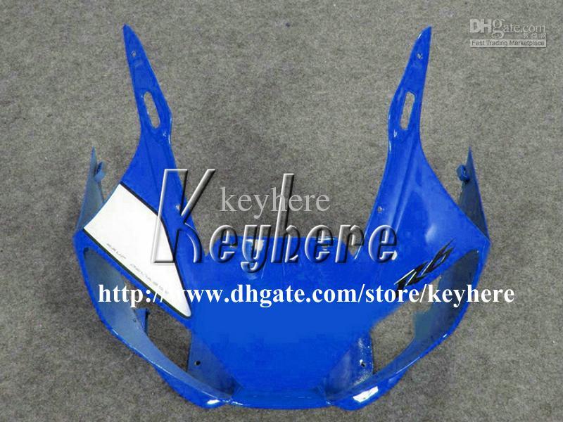Kit de carenagem para 7 presentes grátis para YAMAHA YZF R6 1998 1999 2000 2001 2002 YZFR6 YZF600R 98 99 00 01 02 carenagens YZF-R6 G7m corpo preto branco azul