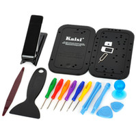 Wholesale Disassemble Tools - Kaisi KS-1805 Opening Tools Set Disassemble Repair Tool Kit 19 in 1 for iphone 5 5G with Retail Package