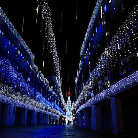 name 1000 led lights 10m3m curtain lightschristmas ornament lightflash led colored lightsfairy light wedding light color of light yellowredpink blue