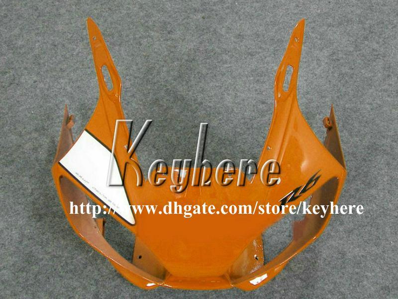 Kit carena 7 regali YAMAHA YZF R6 1998 1999 2000 2001 2002 YZFR6 YZF600R 98 99 00 01 02 Carene YZF-R6 Carrozzeria G1o gialla bianca