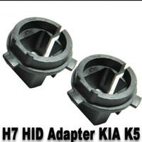 hid adaptadores h1 al por mayor-10 PARES (2 UNIDADES POR PAR) HID Xenon H7 Bulbos Adaptadores Convertidores H023 Para Hyundai 2013 Up Genesis Coupe 2012 Up Veloster 2011-2013 K5