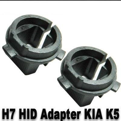 best selling 10 PAIRS(2 PCS PER PAIR) HID Xenon H7 Bulbs Adapter Holders Convert H023 For Hyundai 2013 & Up Genesis Coupe 2012 & Up Veloster 2011-2013 K5