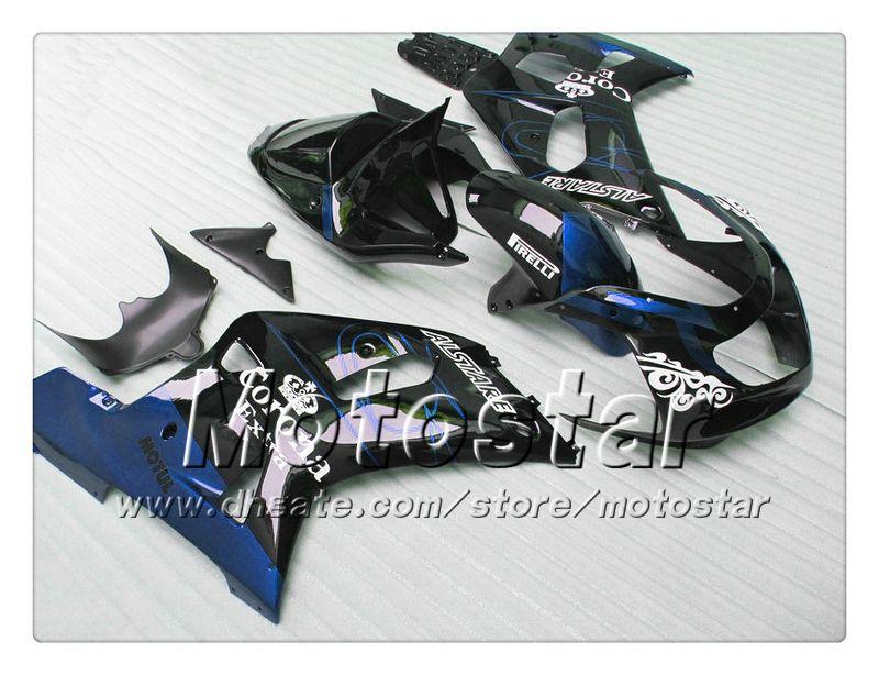 Body Work Backings voor Suzuki GSXR 600 750 K1 2001 2002 2003 GSXR600 GSXR750 01 02 03 R600 R750 ABS FACKING QQ94