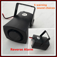 Wholesale Car Siren System - 1 PC Car Warning siren Backup alarms warning sound Beep backup siren 12V DF-2705 FFF FREESHIPPING !!