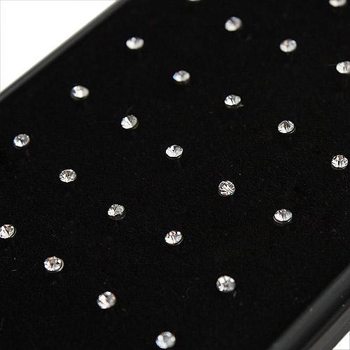 10 scatole naso anello moda corpo gioielli naso Stud 316L acciaio chirurgico naso piercing cristallo Stud