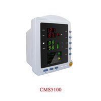 Wholesale patient monitor nibp resale online - New CONTEC patient monitor CMS5100 with NIBP SPO2 PR color TFT LCD display