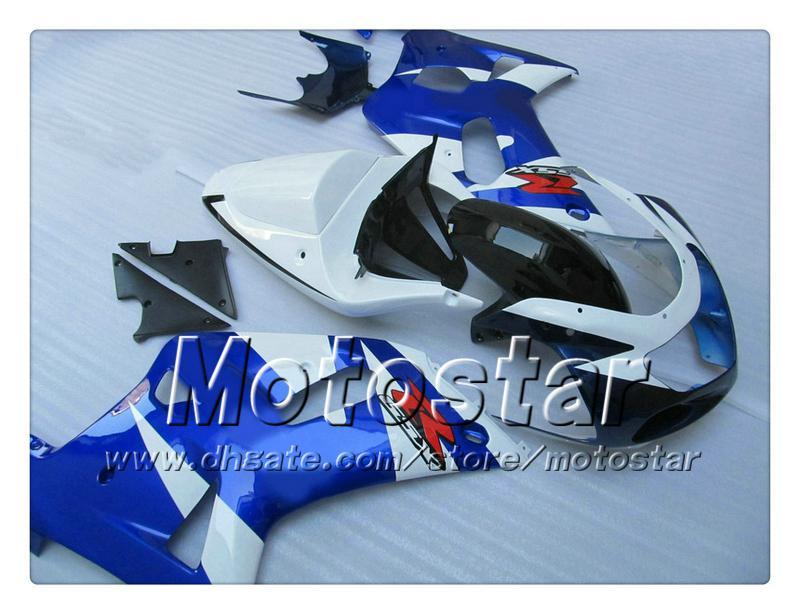 Carénages de carrosserie pour SUZUKI GSXR 600 750 K1 2001 2002 2003 GSXR600 GSXR750 01 02 03 R600 Carénage de rechange R1750 RR17