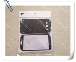 Wholesale S3 Carbon - Carbon Fiber Fibre Vinyl Skin Sticker Full Body Stickers Cover Guard For Samsung I9300 Galaxy S3