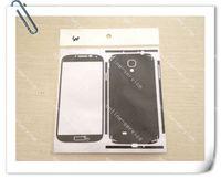 Wholesale S4 Carbon Cover - Carbon Fiber Fibre Vinyl Skin Sticker Full Body Stickers Cover Guard For Samsung I9500 Galaxy S4