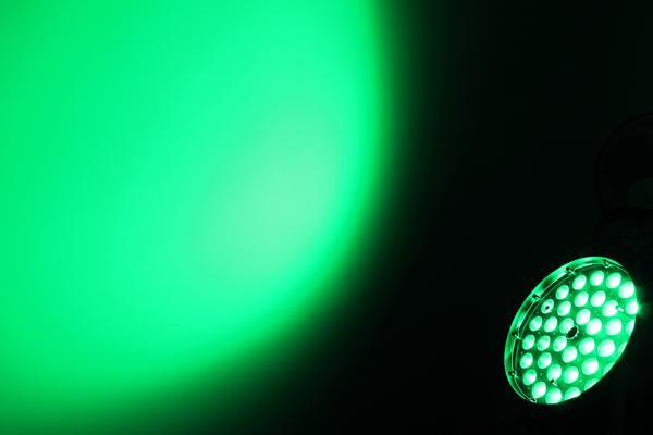 * 10w llevó la luz principal móvil del lavado del zumbido con la pantalla táctil
