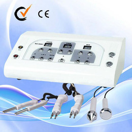 Wholesale 3 in 1 ultrasonic micro current Face Lift Microcurrent BIO Facial Machine for salon use Au-8201