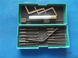 Wholesale Dimple Lock Pick Gun - Freeshipping 14pcs Dimple Lock Pick Kaba lock opener pick gun, LOCK pick H109
