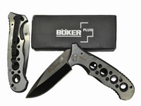 Wholesale China Tactical Knife - Free Shipping Boker plus 083 pocket knife hunting Surrival knife Camping knife,gift knife knives with clip & nylon bag Made in China
