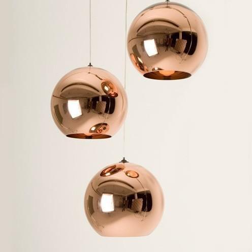 Discount Modern Diameter 25 Cm Tom Dixon Copper Shade Ceiling